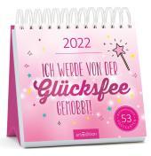 Ich werde von der Glücksfee gemobbt! 2022, Postkarten-Kalender Cover