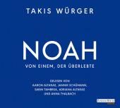 Noah - Von einem, der überlebte, 4 Audio-CD Cover