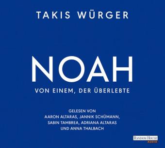 Noah - Von einem, der überlebte, 4 Audio-CD