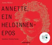 Annette, ein Heldinnenepos, 5 Audio-CD Cover