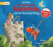 Der kleine Drache Kokosnuss und die Drachenprüfung, 1 Audio-CD Cover