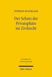 Der Schutz der Privatsphäre im Zivilrecht