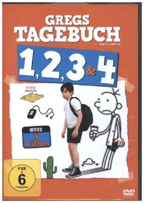 Gregs Tagebuch 1-4, 4 DVD