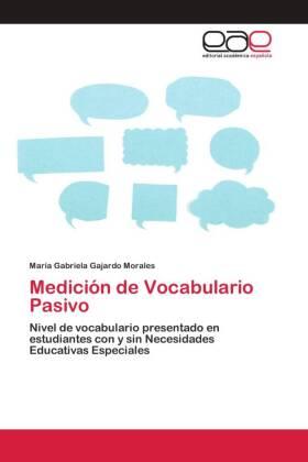 Medición de Vocabulario Pasivo