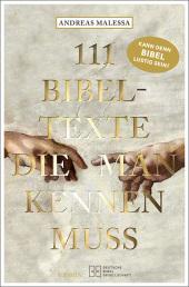 111 Bibeltexte, die man kennen muss Cover