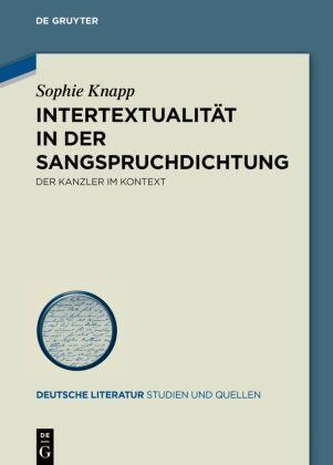 Knapp, Sophie: Intertextualität in der Sangspruchdichtung