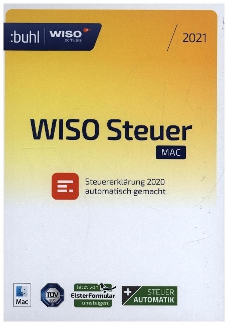 WISO Steuer Mac 2021, CD-ROM - Produkt