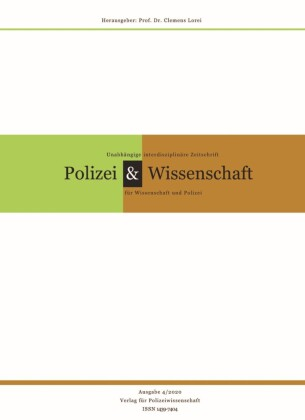 Zeitschrift Polizei & Wissenschaft