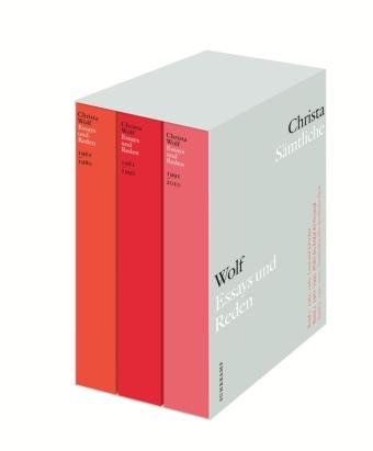 Wolf, Christa: Sämtliche Essays und Reden