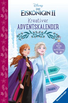 Kreativer Adventskalender zur Eiskönigin 2