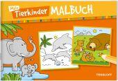 Mein Tierkinder-Malbuch