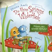 Die kleine Spinne Widerlich - Komm, wir spielen Schule! (Mini-Ausgabe) Cover