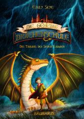Die geheime Drachenschule - Das Tribunal der Sieben Flammen Cover
