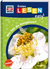 WAS IST WAS Erstes Lesen easy! Wie lebt die Honigbiene? Cover