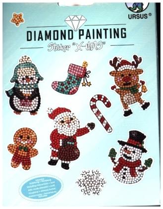"""Diamond Painting Sticker """"X-Mas"""""""