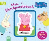 Peppa Pig Mein Steckpuzzlebuch