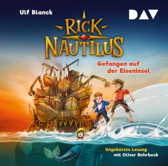 Rick Nautilus - Gefangen auf der Eiseninsel, 2 Audio-CD