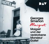Maigret und der verstorbene Monsieur Gallet, 4 Audio-CD