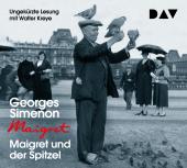 Maigret und der Spitzel, 4 Audio-CD