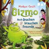 Gizmo - Auch Drachen brauchen Freunde, 2 Audio-CD Cover