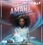 Amari und die Nachtbrüder, 1 Audio-CD, MP3 Cover