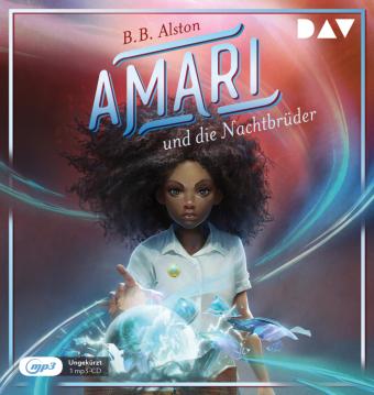 Amari und die Nachtbrüder, 1 Audio-CD, MP3