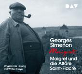 Maigret und die Affäre Saint-Fiacre, 4 Audio-CD