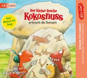 Alles klar! Der kleine Drache Kokosnuss erforscht die Steinzeit, 1 Audio-CD