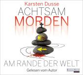 Achtsam morden am Rande der Welt, 6 Audio-CD Cover