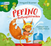 Pepino Rettungshörnchen, 1 Audio-CD