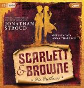 Scarlett & Browne - Die Outlaws, 2 Audio-CD, MP3 Cover