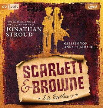 Scarlett & Browne - Die Outlaws, 2 Audio-CD,, 28/2