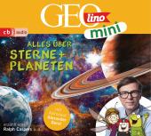 GEOLINO MINI: Alles über Sterne und Planeten (4), 1 Audio-CD