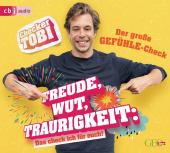 Checker Tobi - Der große Gefühle-Check: Freude, Wut, Traurigkeit - Das check ich für euch!, 1 Audio-CD