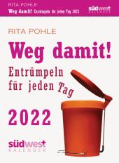 Weg damit! 2022 Tagesabreißkalender