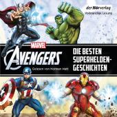 Marvel The Avengers - Die besten Superhelden-Geschichten, 2 Audio-CD Cover