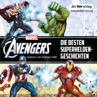 Marvel The Avengers - Die besten Superhelden-Geschichten, 2 Audio-CD