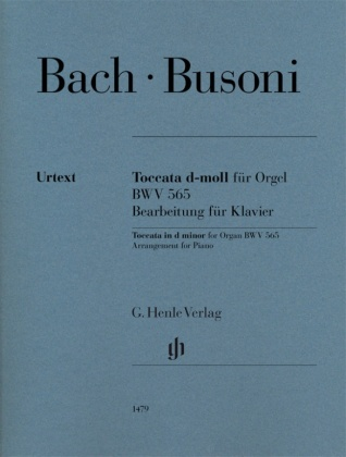 Busoni, Ferruccio - Toccata d-moll für Orgel BWV 565 (Johann Sebastian Bach)