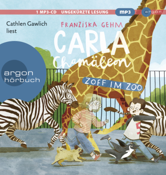 Carla Chamäleon: Zoff im Zoo, MP3-CD