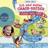 Ich und meine Chaos-Brüder - Achtung, fertig, Ferien!, 1 Audio-CD