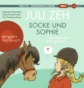 Socke und Sophie, 1 Audio-CD, MP3