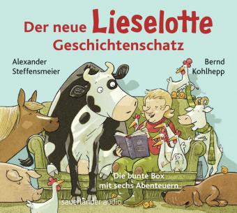 Der neue Lieselotte Geschichtenschatz, 2 Audio-CD