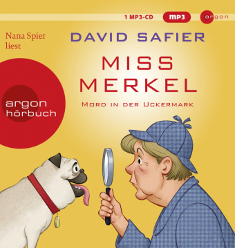 Miss Merkel, MP3-CD