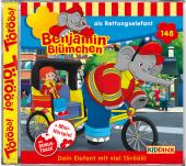 Benjamin Blümchen - als Rettungselefant, 1 Audio-CD
