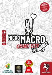MicroMacro - Crime City (Spiel) Cover