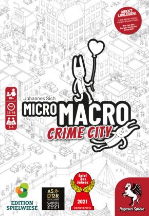 MicroMacro - Crime City (Spiel)