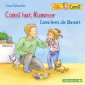 Conni hat Kummer / Conni lernt die Uhrzeit, 1 Audio-CD Cover
