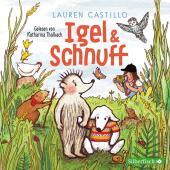 Igel und Schnuff, 1 Audio-CD Cover