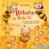 Rabatz in Wabe 13, 2 Audio-CD