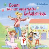 Conni und der zauberhafte Schulzirkus, 1 Audio-CD Cover
